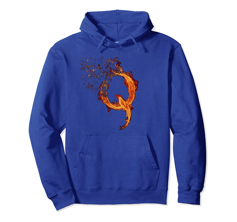 QAnon Fire Gifts Q Modern Hoodie Tees and Shirt Design