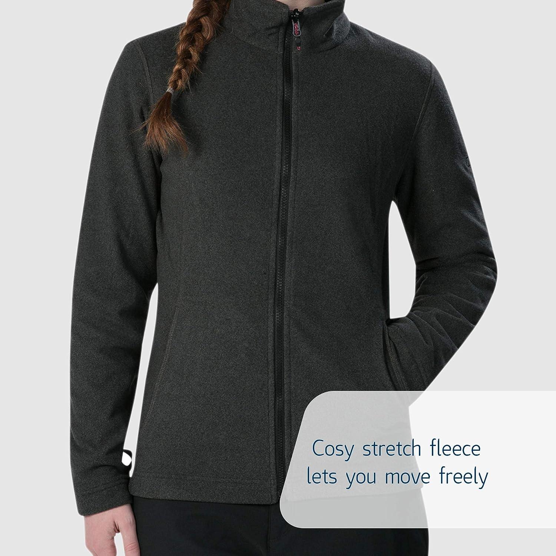 Berghaus Women's Elara Gemini 3-in-1 Waterproof Jacket with Fleece Carbon/Jet Black Marl