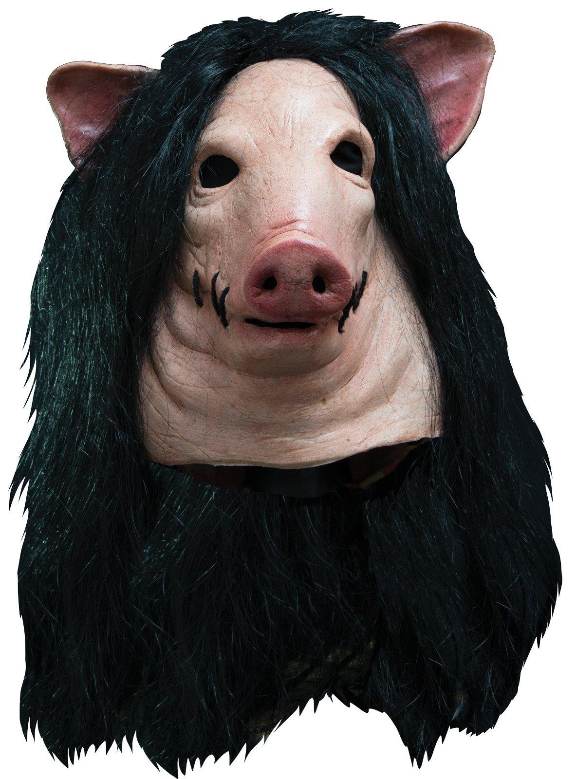 Trick Or Treat Studios Men's Saw-Pig Mask, Multi, One Size