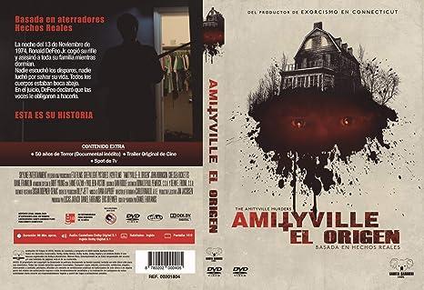 Amityville: El Origen DVD 2018 The Amityville Murders: Amazon ...