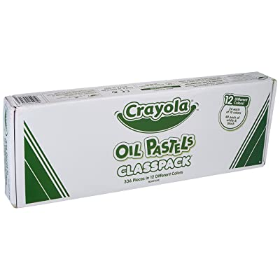 Crayola Oil Pastels Classpack (Box of 336): Toys & Games
