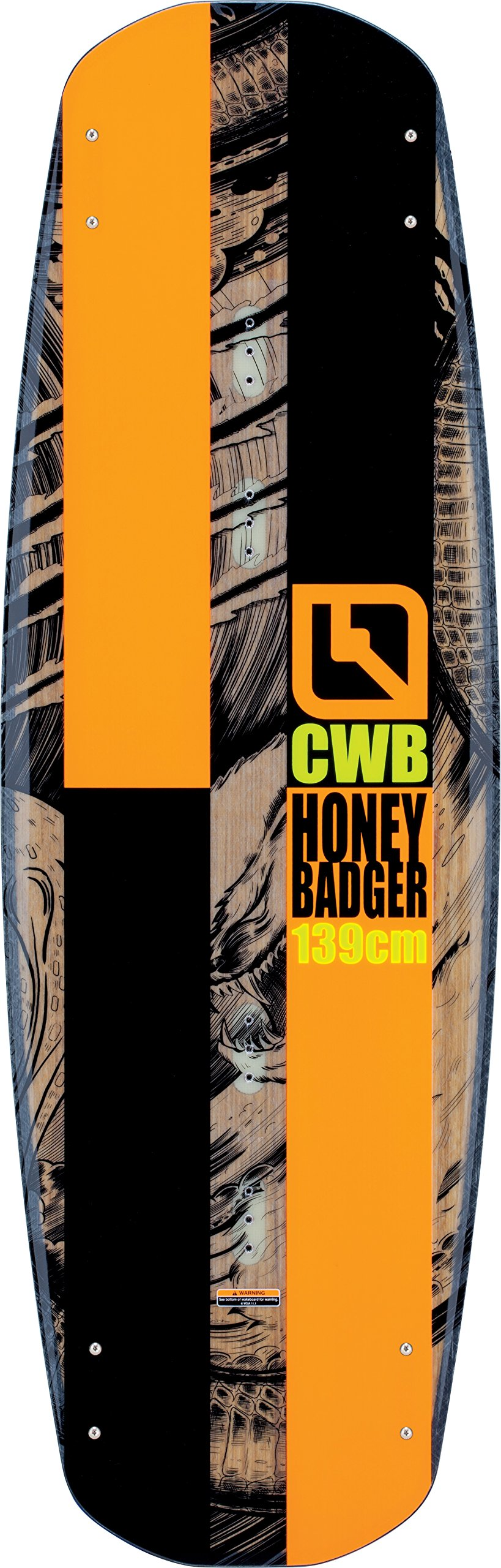 Connelly Honey Badger 2017 Venza Wakeboard for Age (9-12), 139cm/Large/X-Large