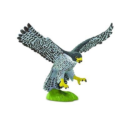 Safari 100094 Wow Birds Peregrine Falcon Miniature: Toys & Games