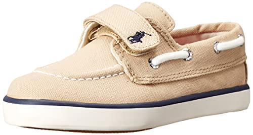Polo Ralph Lauren Kids Sander EZ Canvas Fashion Boat Shoe (Toddler Little  Kid) dad7112f8be1