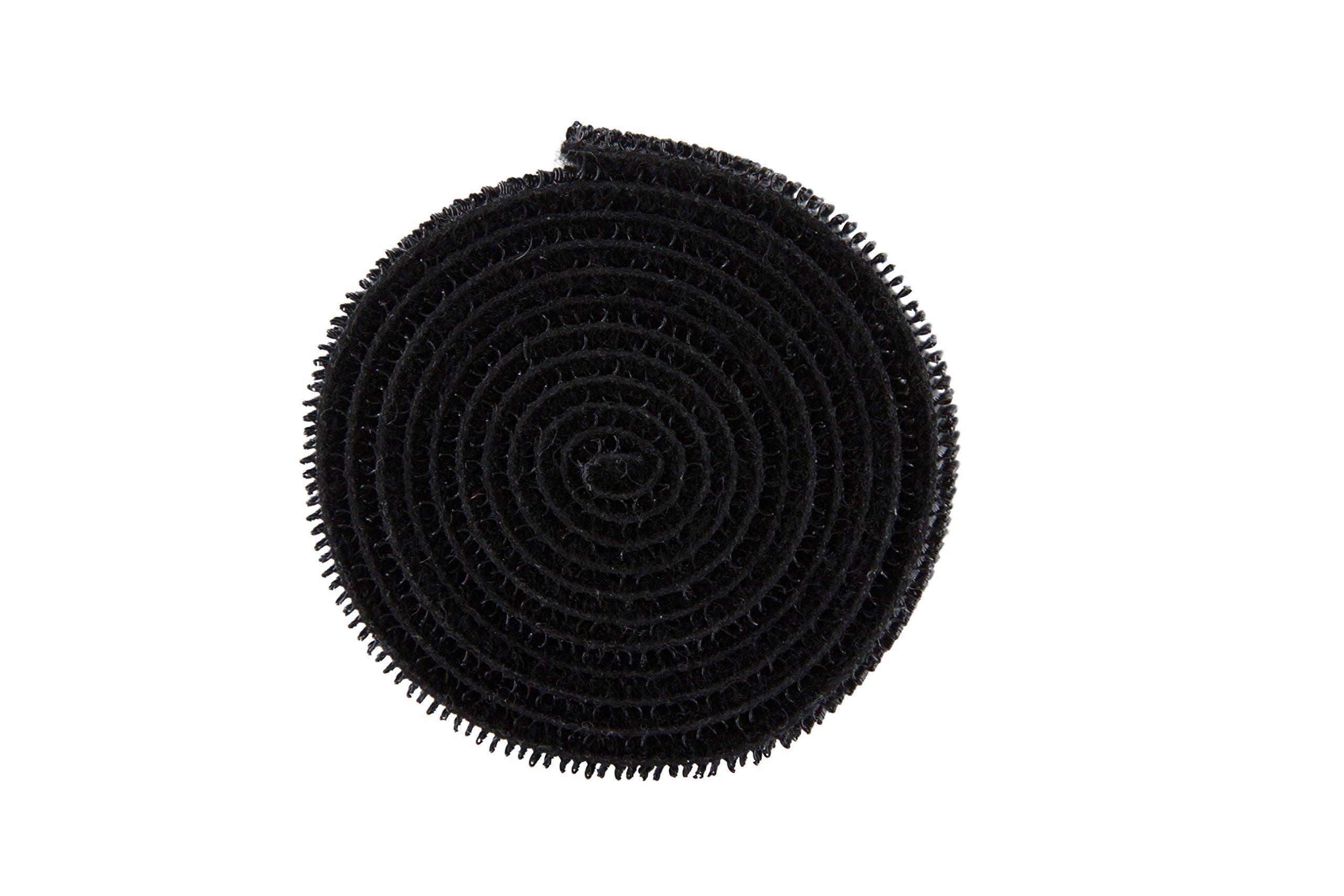 Baumgartens Nylon Cord Roll Black (Pack of 10) (48000)