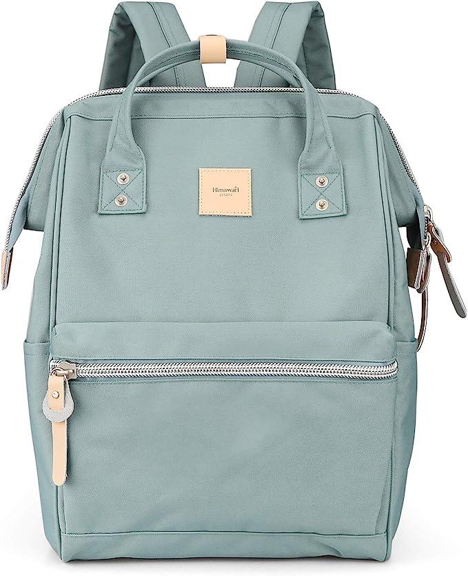 Himawari Laptop Backpack Travel Backpack With USB Charging Port