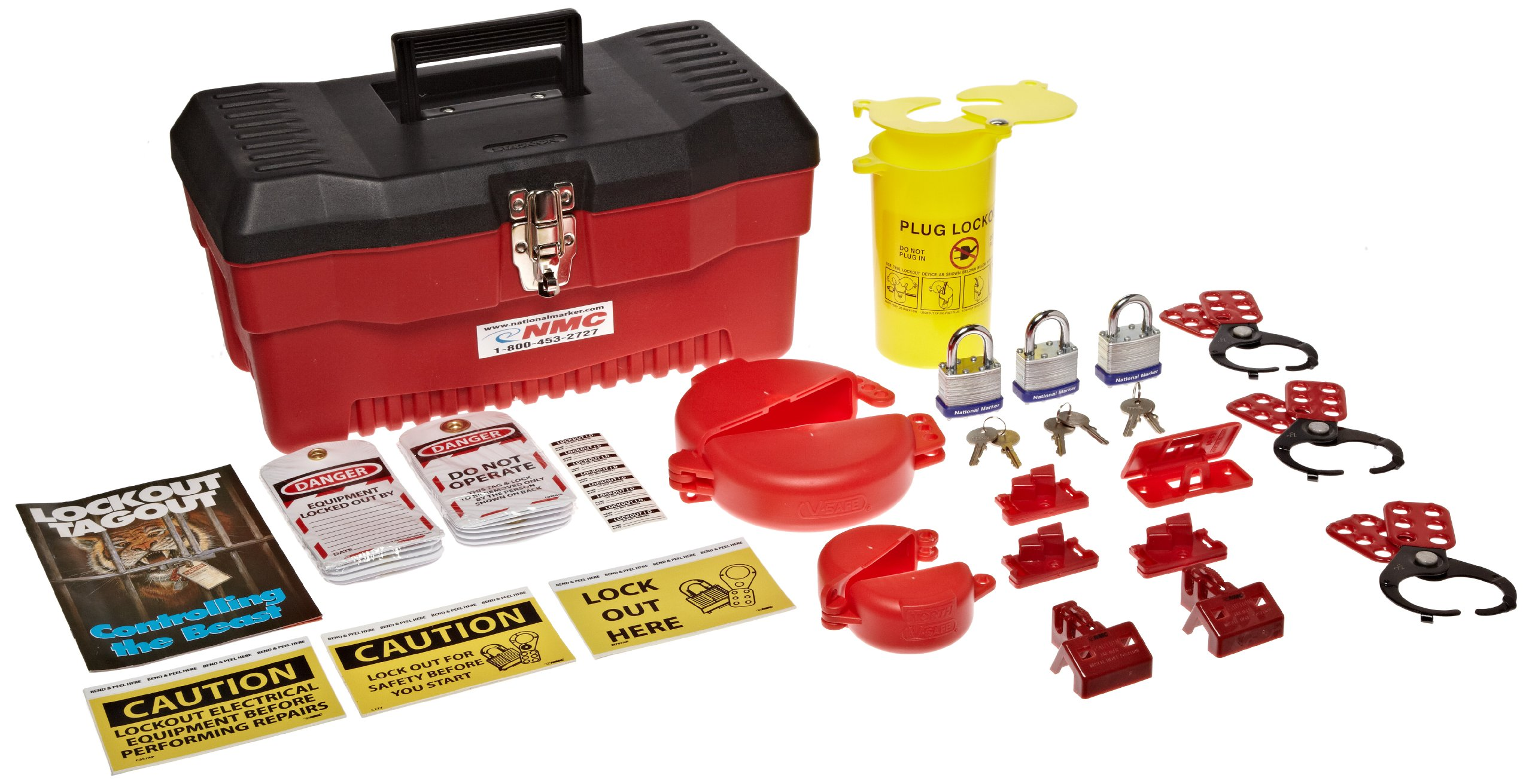 NMC PLOK1 68 Piece Premium Lockout Kit
