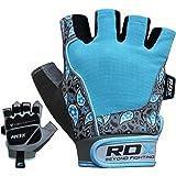 RDX Fitness Handschuhe Damen Trainingshandschuhe Frauen Crossfit Handgelenkstütze Sporthandschuhe Gewichtheben krafttraining workout Bodybuilding Gym Gloves