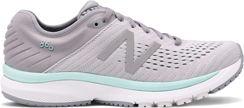 New Balance 860 v10- Gris para mujer (Ancho): Amazon.es: Zapatos y complementos