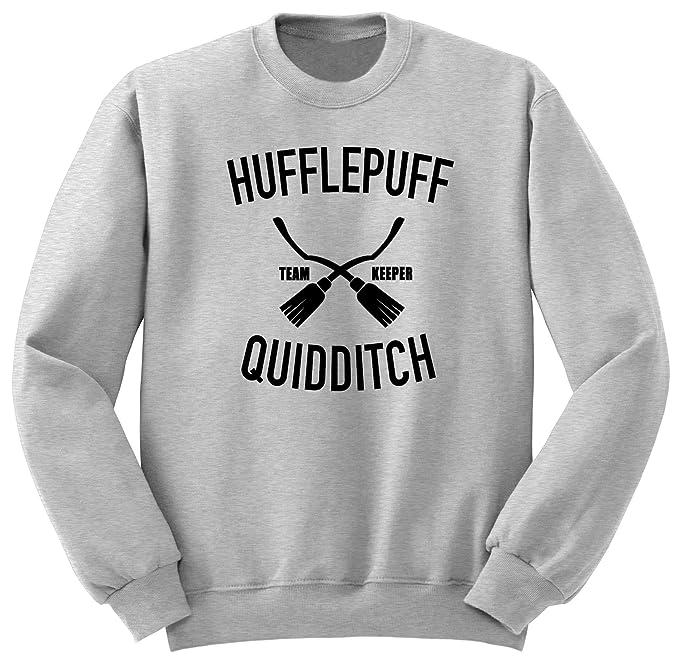 Hufflepuff Sudadera/Harry Potter Quidditch/Hogwarts Sweatshirt S