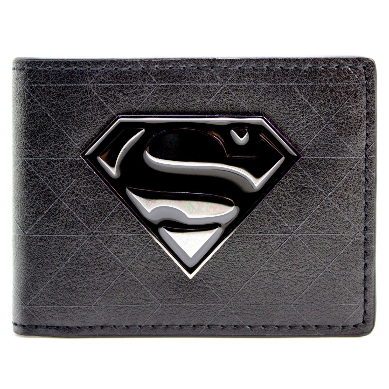 Cartera de DC Comics Superman sí mbolo de la insignia Negro 27326