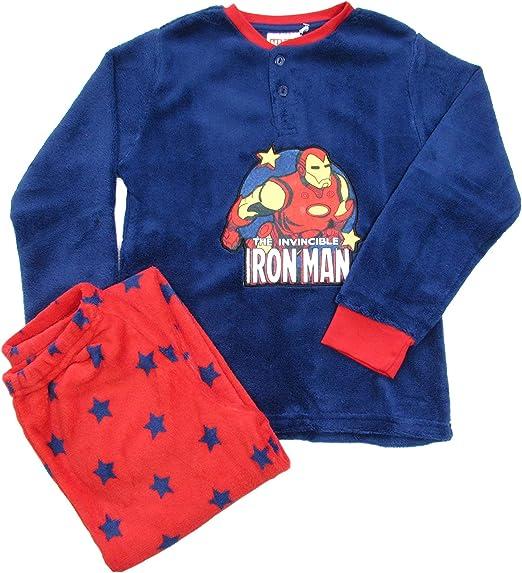 SUN CITY Pijama niño de invierno Iron Man Avengers de coral ...