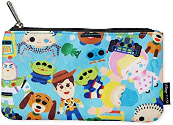 pouch accessory bag organizer travel bag busy bag craft bag crayon bag road trip gift Mickey Mouse zipper pouch kid activity bag