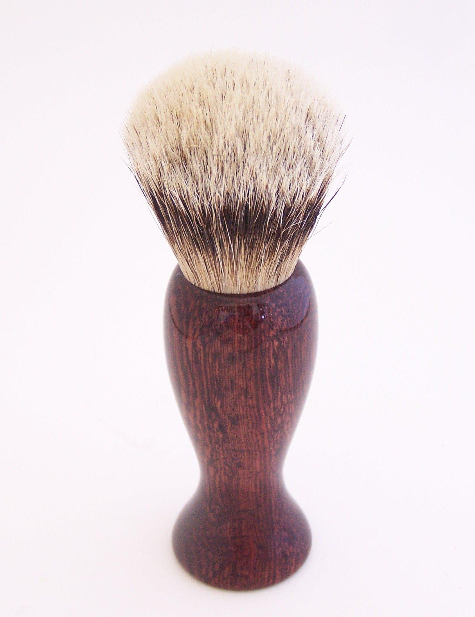 Camatillo Rosewood 20mm Super Silvertip Shaving Brush (C4)