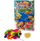 Water Balloons Refill Quick & Easy Kit - 1000 Balloons +1000 Rubber Bands + 5 Quick & Easy Refill Tools Diy Toys -Save Money