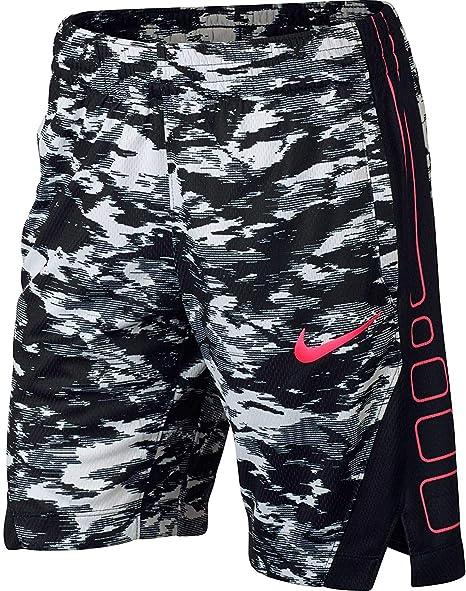 Nike Girls Dry Elite rayas impreso baloncesto pantalones cortos ...