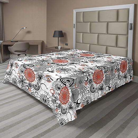 Ambesonne Purple Mandala Flat Sheet Top Sheet Decorative Bedding 6 Sizes