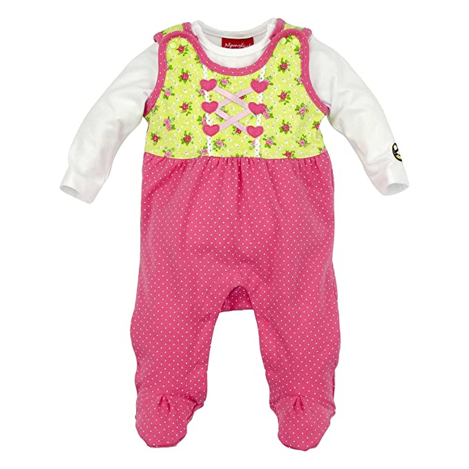 BONDI - Pelele - Pelele - Lunares - para bebé niña Punkte Pink 56 cm: Amazon.es: Ropa y accesorios