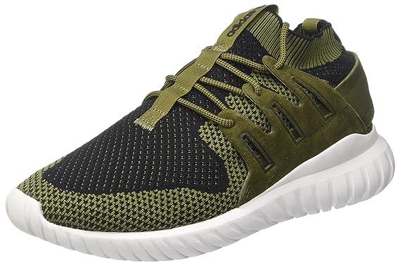 premium selection 687c3 997d5 Amazon.com  adidas Originals Tubular Nova Primeknit Men s Sneaker Green  S80111  Shoes