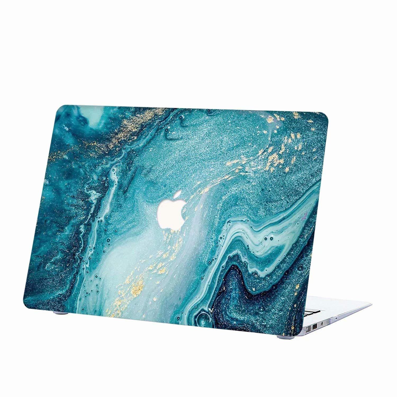 Ola Creativa Patr/ón de Paisaje MacBook Pro 15,4 Pulgadas pl/ástico Dura de Goma con Protector Caso para MacBook Pro 15 con Retina Display Modelo AQYLQ Funda MacBook Pro 15 Retina Caso A1398
