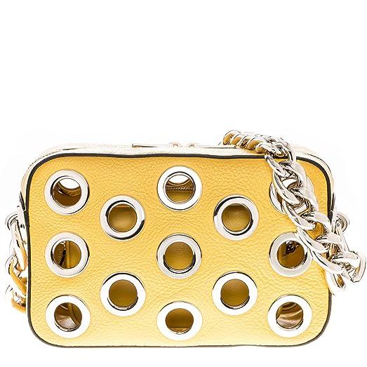 1113e802d1c shop prada handbags yellow d0072 3a69f  clearance prada womens top chain  handle grommet boxy bag yellow da29b 78634