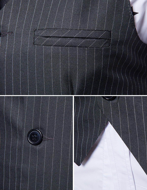 Boom Fashion Hombre Elegante Chaleco de Vestir Casual Negocio Slim Fit  Traje Blazers Sin Mangas UUS0912 a31c6d3bfa32