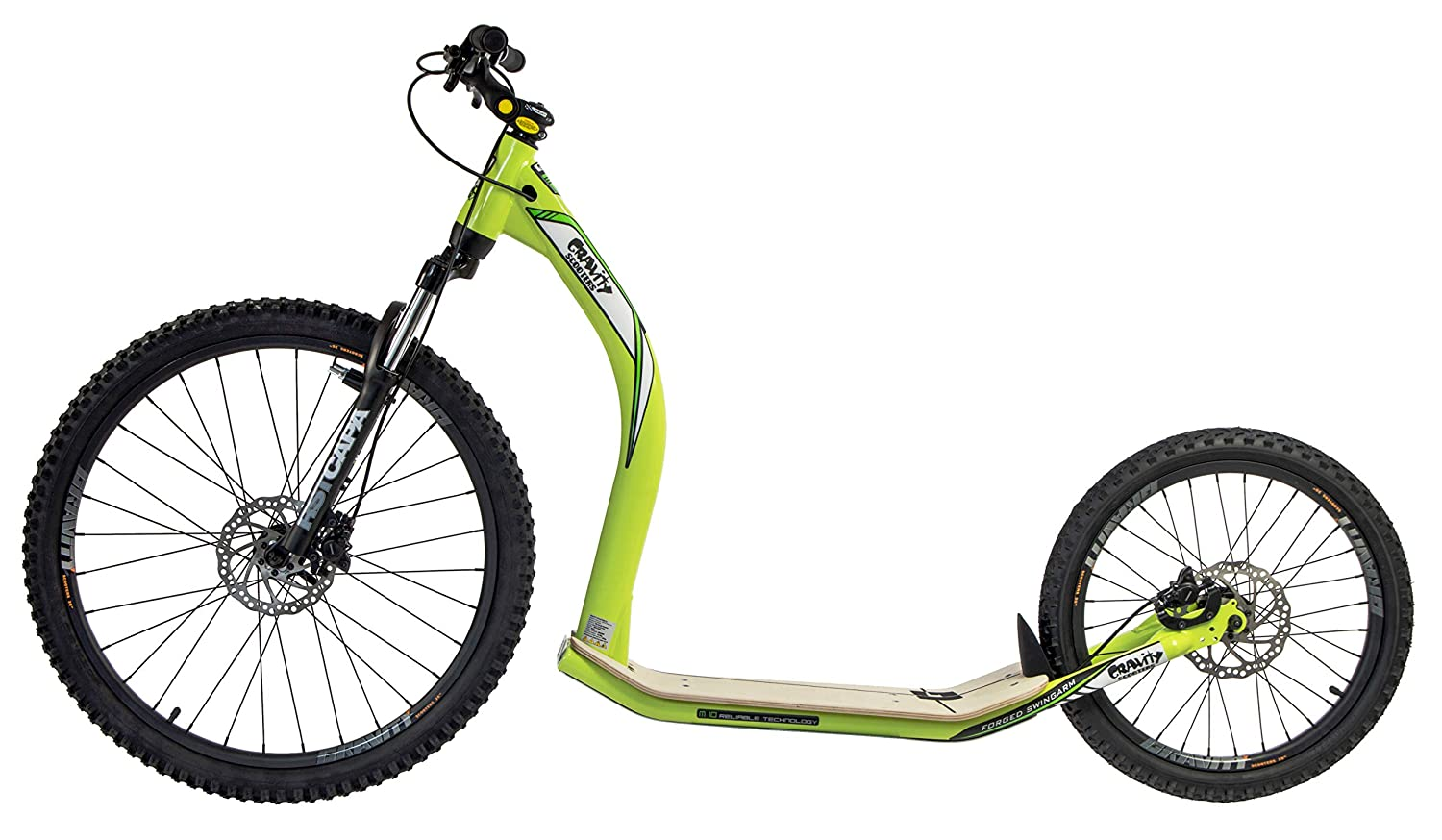 GRAVITY SCOOTERS Patinete para mushing M10 Trail (Verde ...