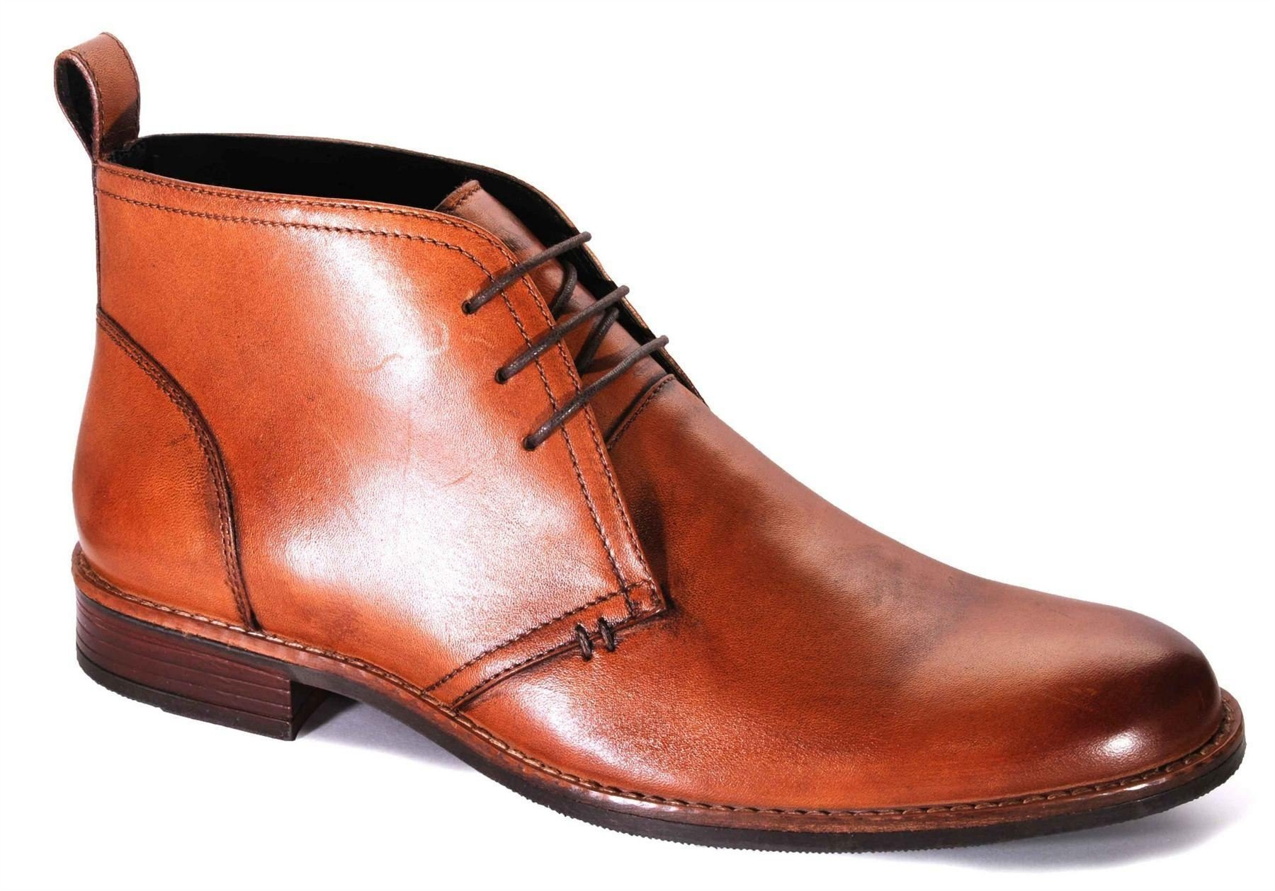 Catesby Mens Leather Smart Lace Up