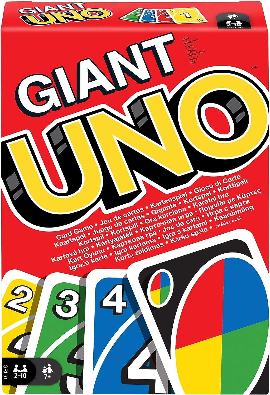 Mattel Games UNO Giant, Juego de Cartas (Mattel GRL91): Amazon.es: Juguetes y juegos