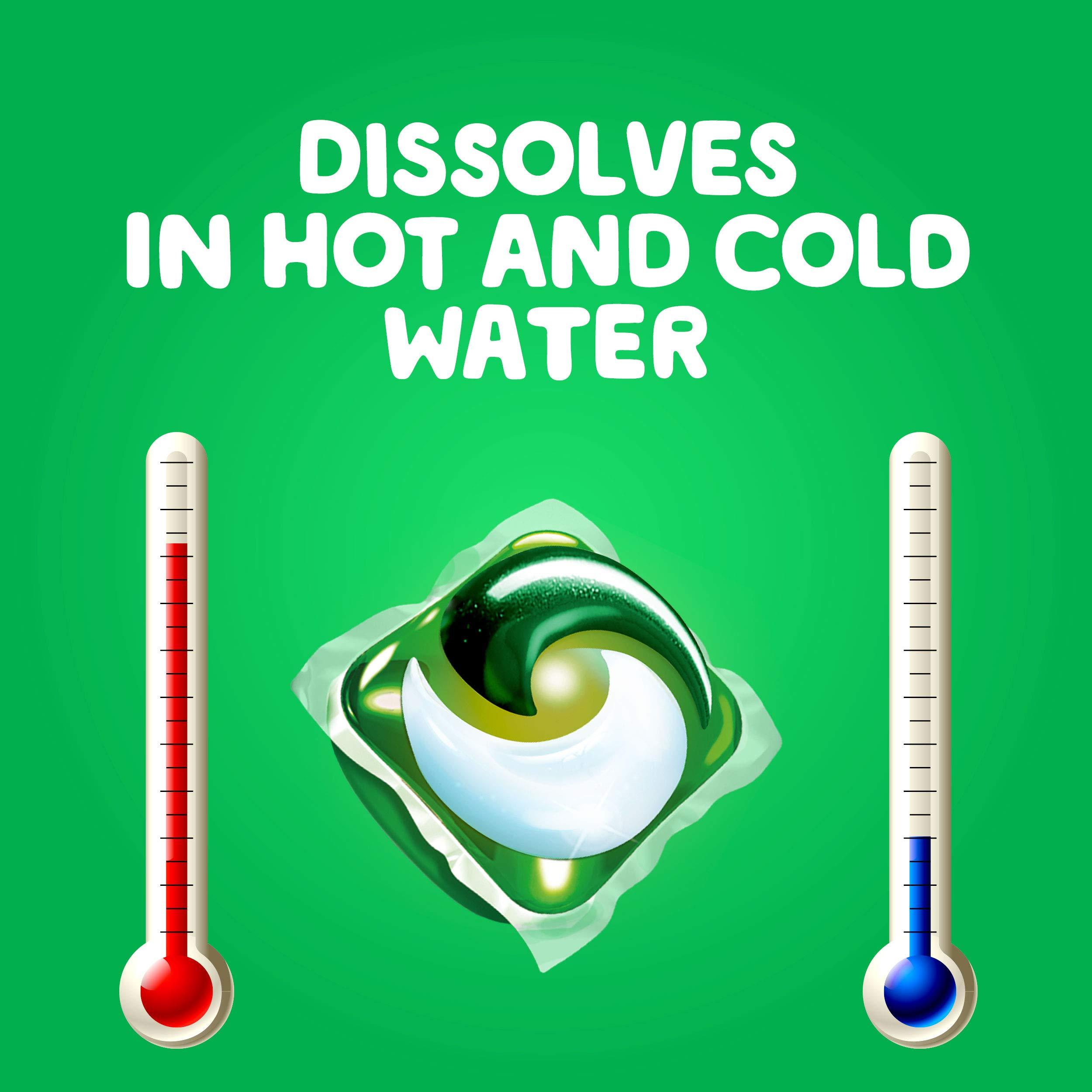 Gain Flings! Liquid Laundry Detergent Pacs, Moonlight Breeze, 96 Count by Gain (Image #6)