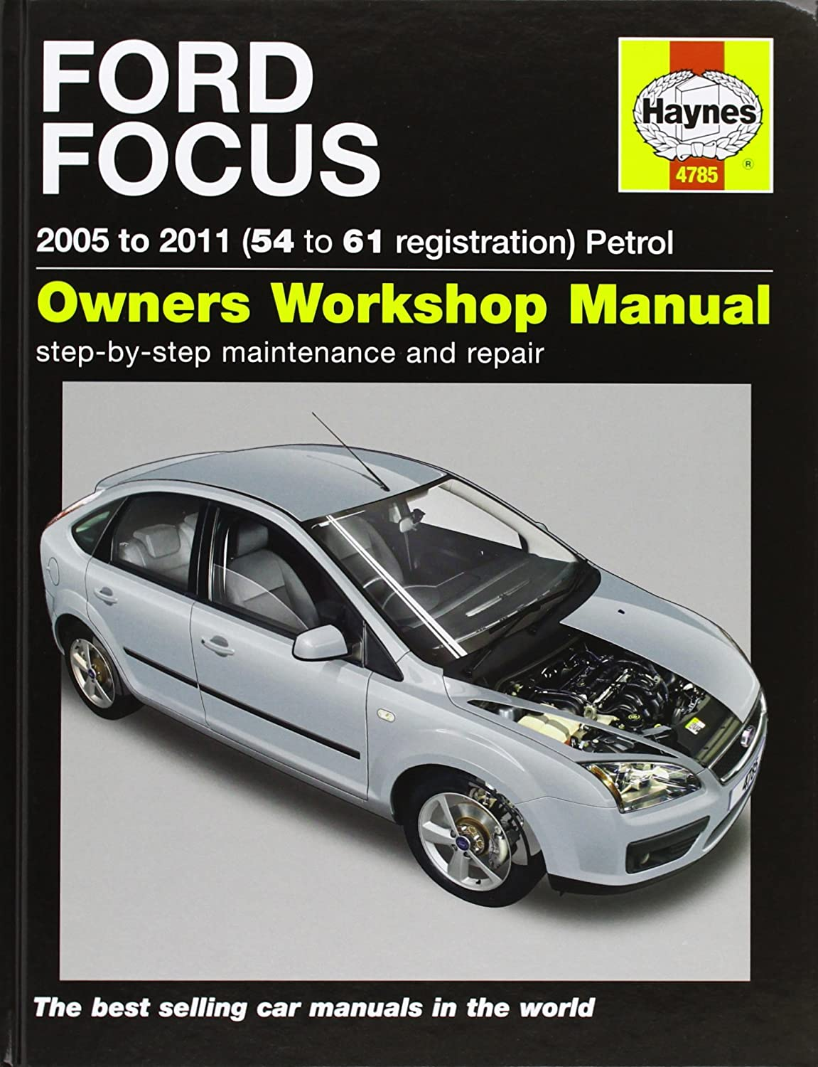 Ford focus petrol service and repair manual haynes service and repair manuals martynn randall amazon co uk car motorbike