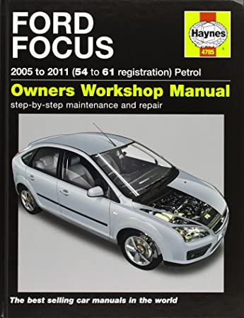 ford focus petrol service and repair manual haynes service and rh amazon co uk 2007 Ford Focus Owners Manual 2007 Ford Focus Service Book