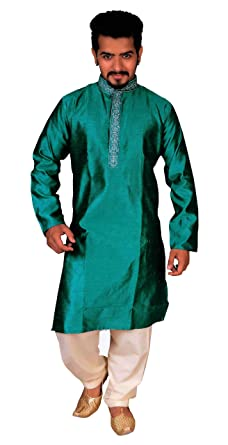 Amazon com: Exclusive Bollywood fashion outfit Mens Kurta