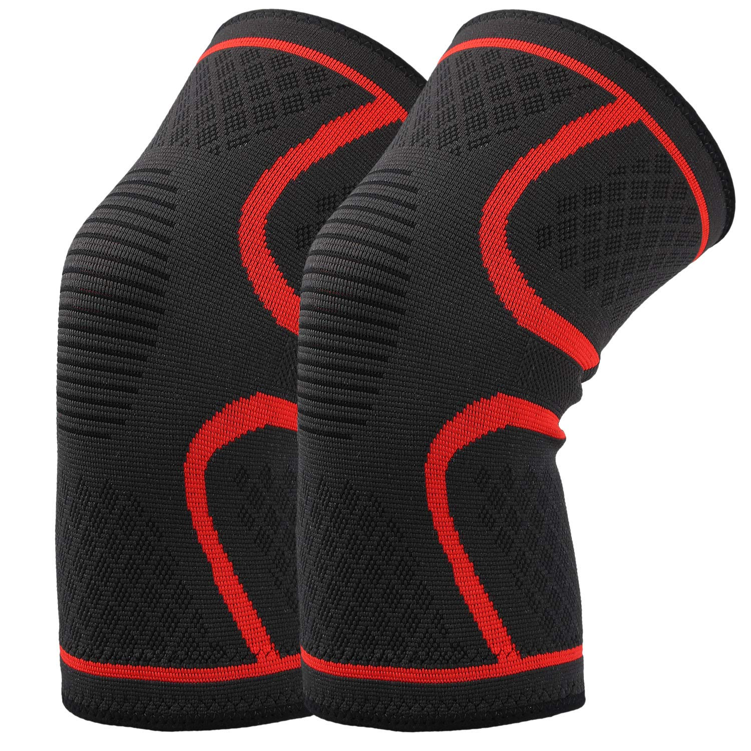 2cd83ec568 Hausbell elastic compression sleeves support all kinds of sports and it It  is an ideal gifts for runners, joggers, or athletes. It could prevent and  reduce ...