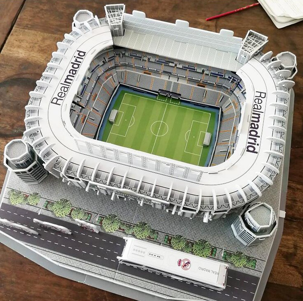 Amazon.com : Kw-tool World Football Stadium 3D Puzzle Model ...