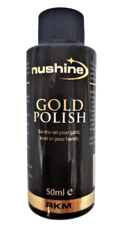 Nushine Gold Polish - Nettoyant or 50ml