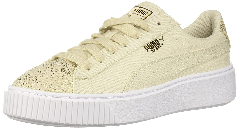 Puma - Frauen Korb Plattform Canvas Schuhe