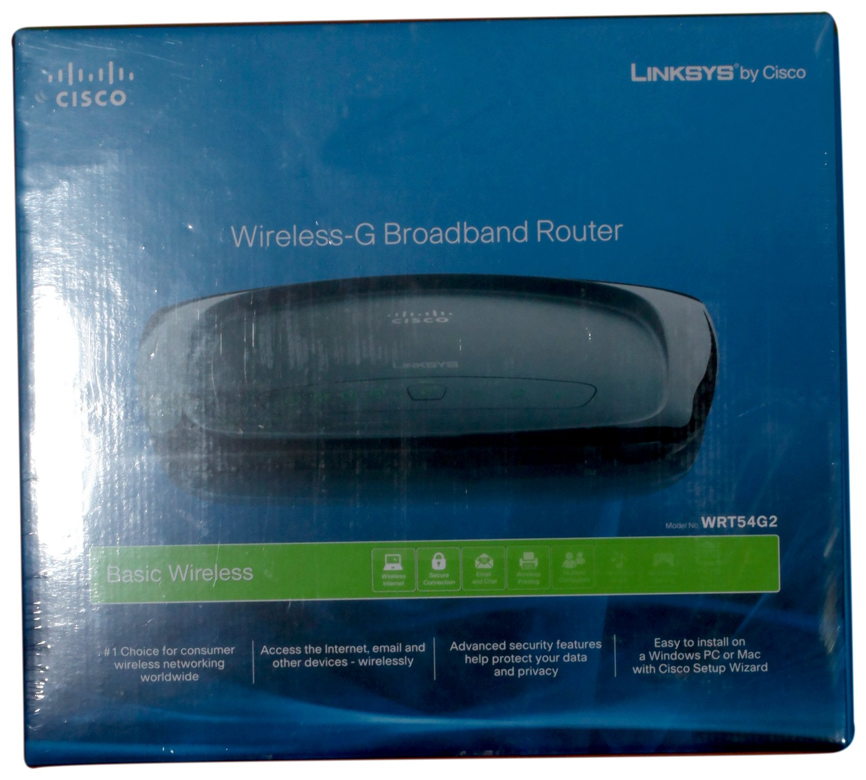 Cisco-Linksys WRT54G2 Wireless-G Broadband Router by Linksys