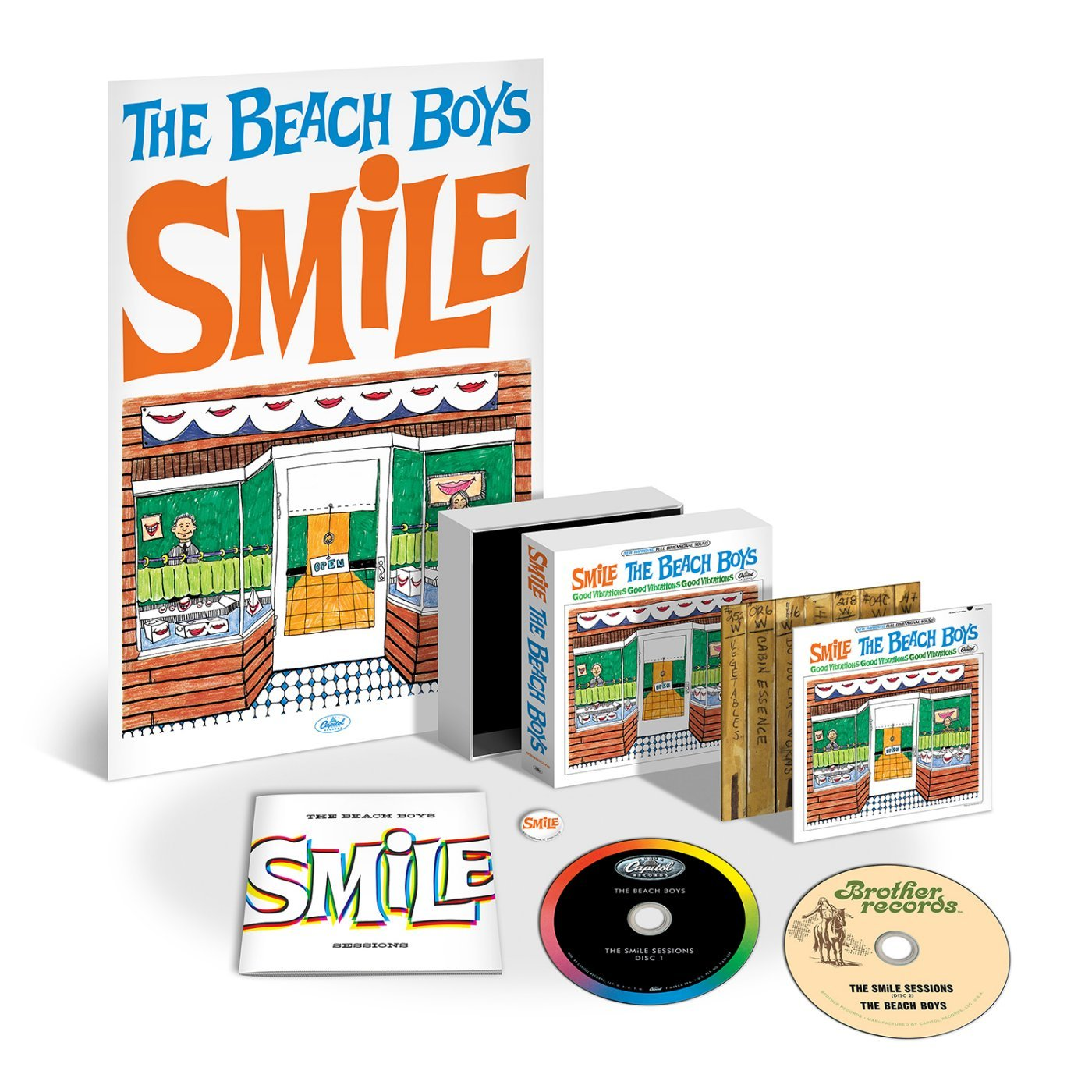 CD : The Beach Boys - Smile Sessions (2 Disc)