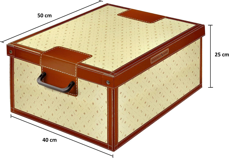 Kanguru Caja de Almacenamiento en cartòn Lavatelli, Modelo Lirio ...