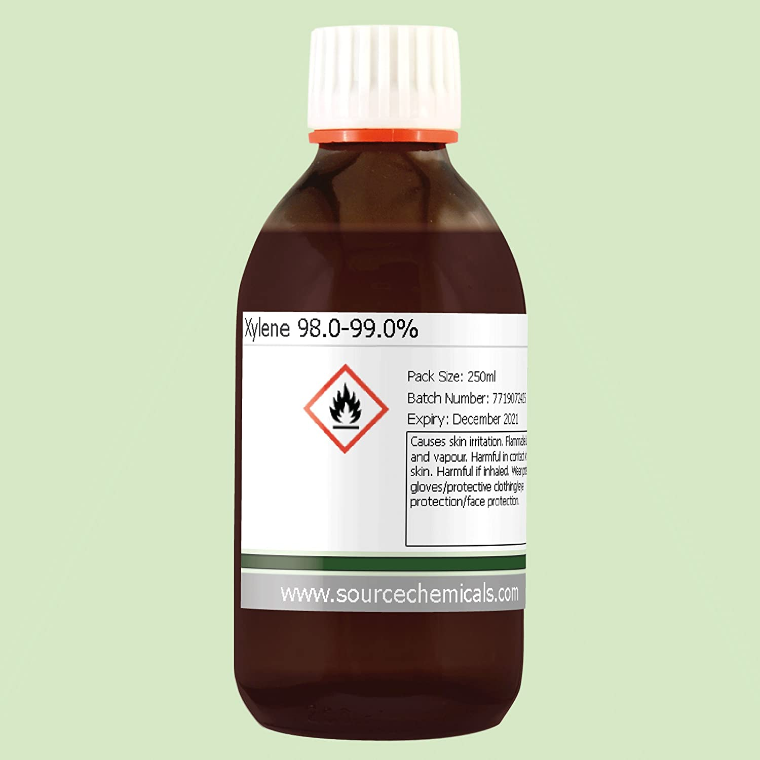 Xylene 98 0-99 0% (Paint Thinner) 250ml Including Delivery: Amazon