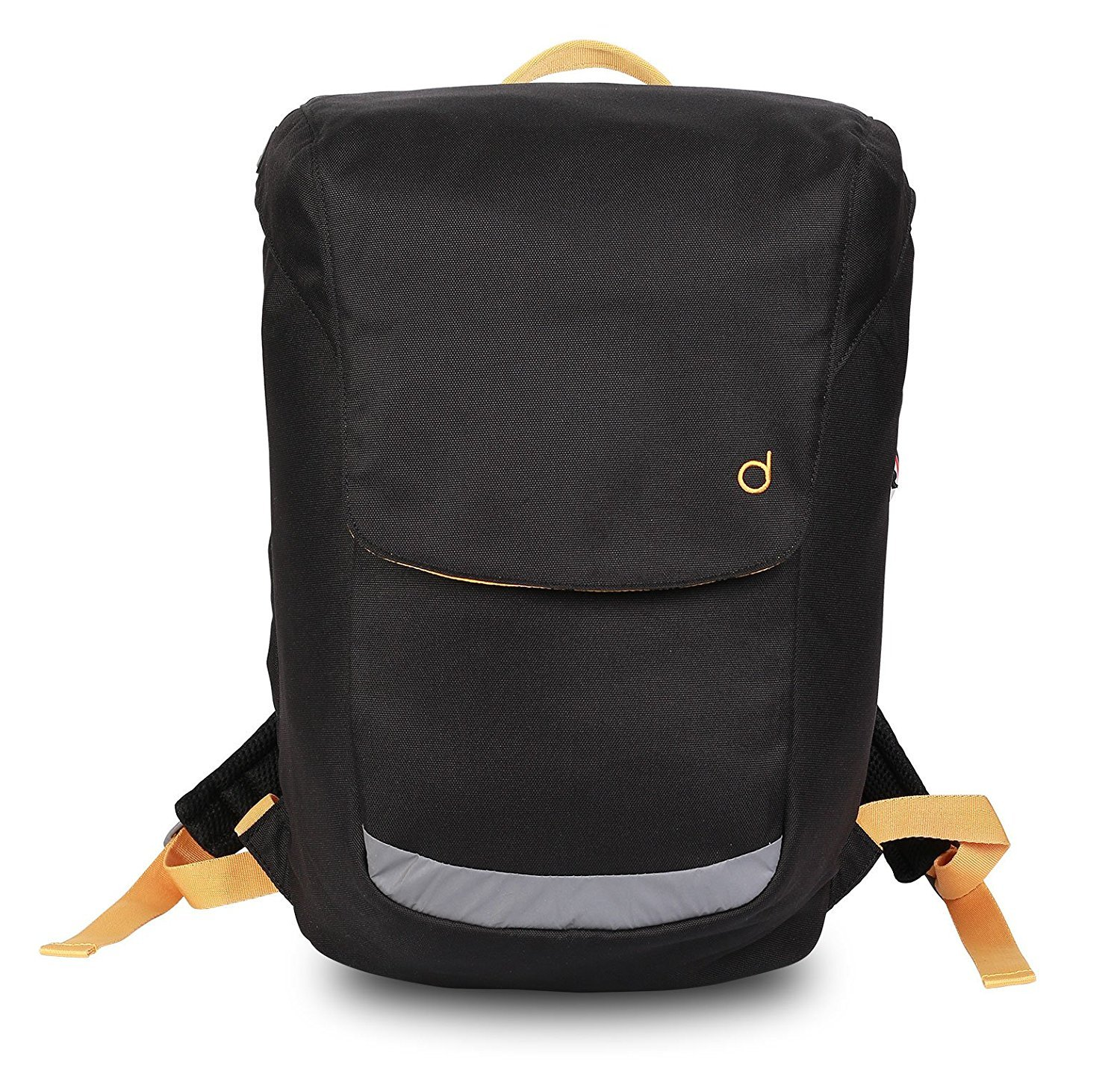 Durban Laptop Backpack Shoulder Crossbody Sling 15-inch Laptop Notebook (B-Black)