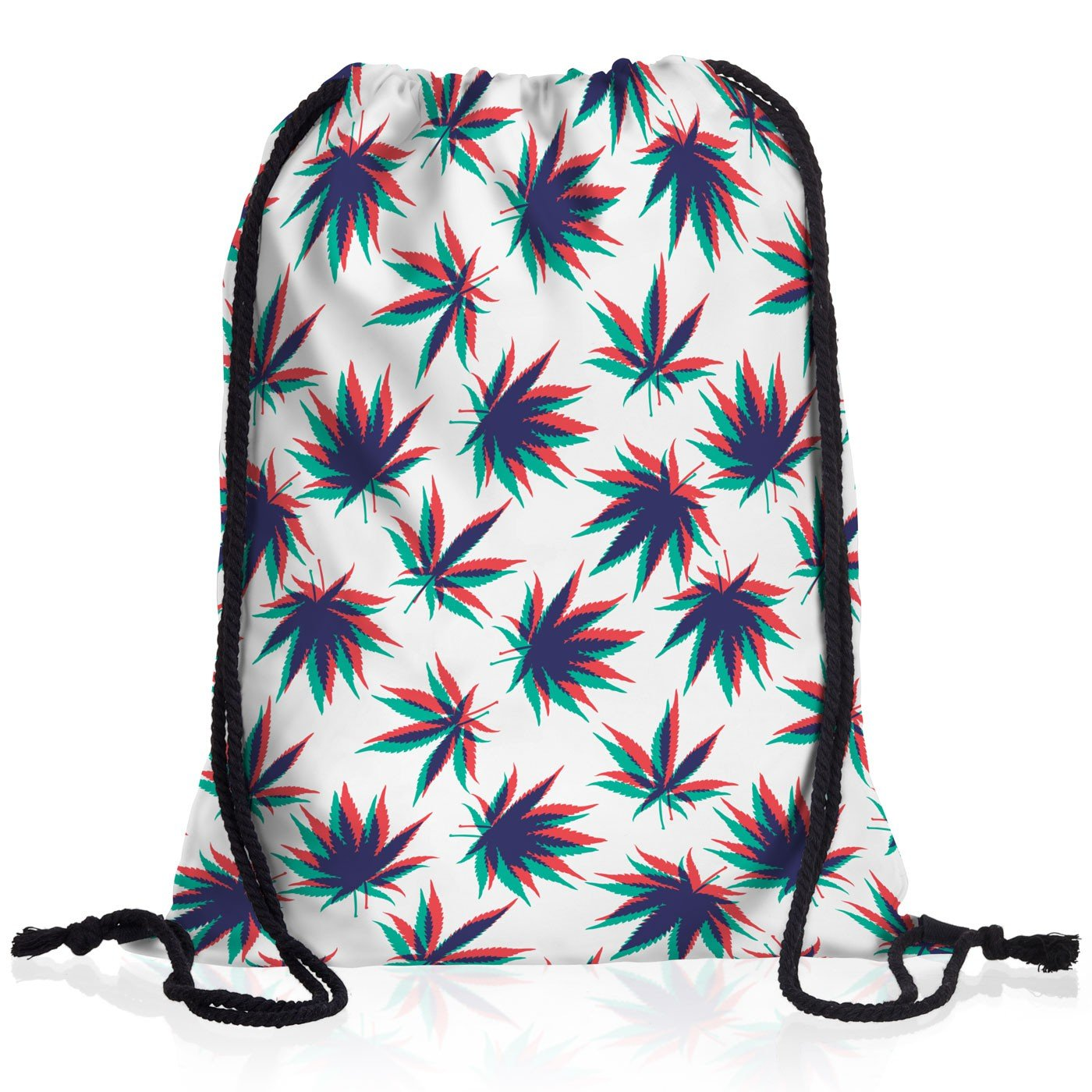 VOID Cannabis Stereo Bolsa Mochila Bolsos Unisex gymsac m/úsica Jamaica grifa Bob Reggae no Woman Marihuana