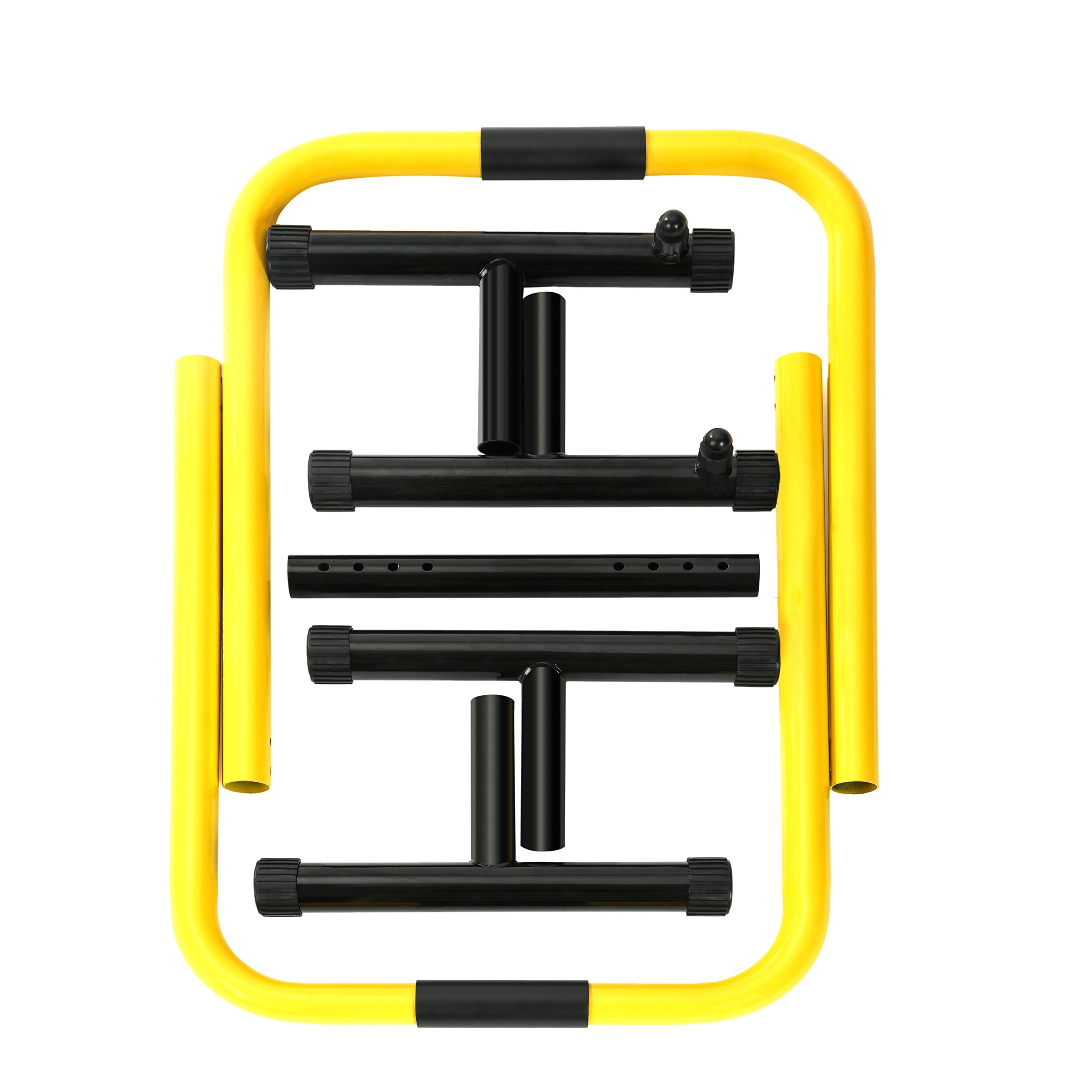 RELIFE REBUILD YOUR LIFE Dip Station Functional Heavy Duty Dip Stands Fitness Workout Dip bar Station Stabilizer Parallette Push Up Stand by RELIFE REBUILD YOUR LIFE (Image #8)