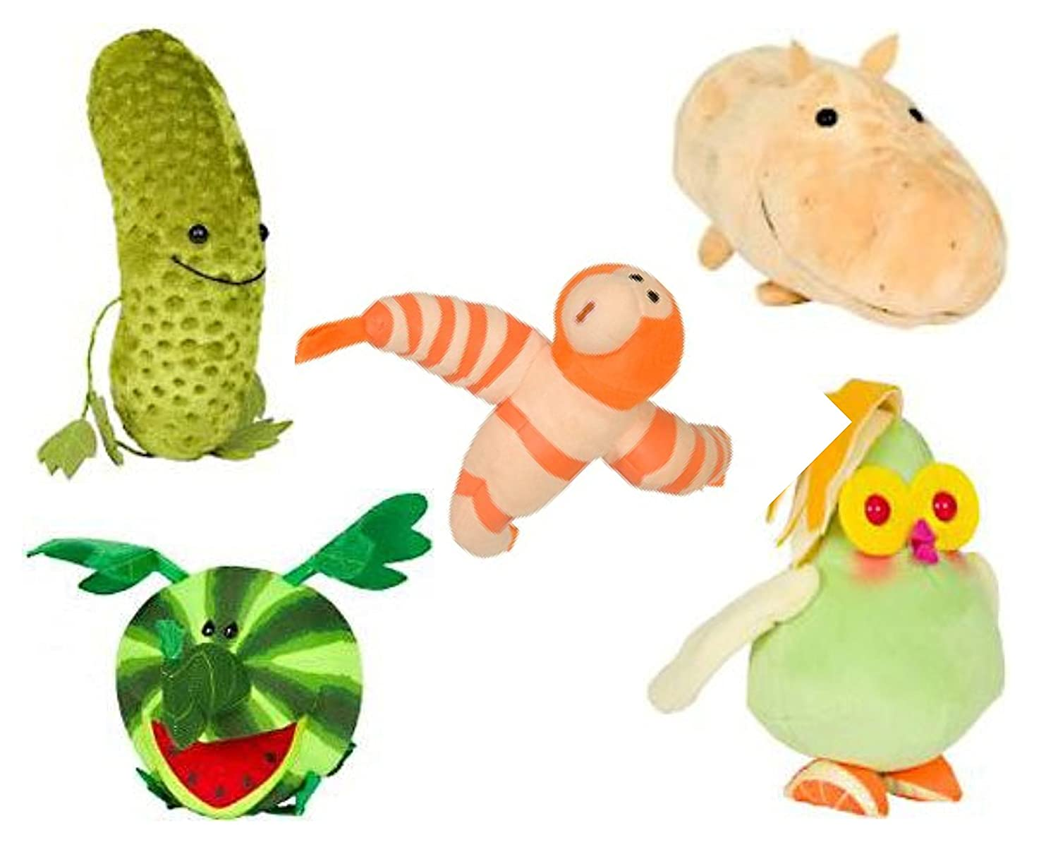 amazon com cloudy with a chance of meatballs 2 plush