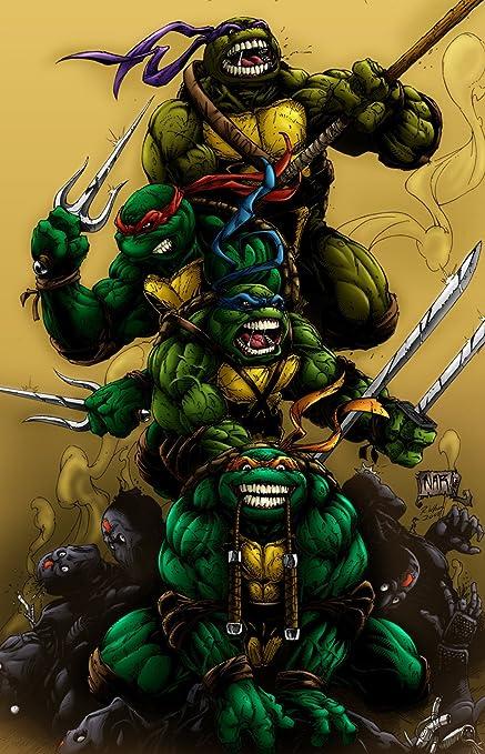 Amazon.com: Teenage mutant ninja turtles 2014 movie poster ...