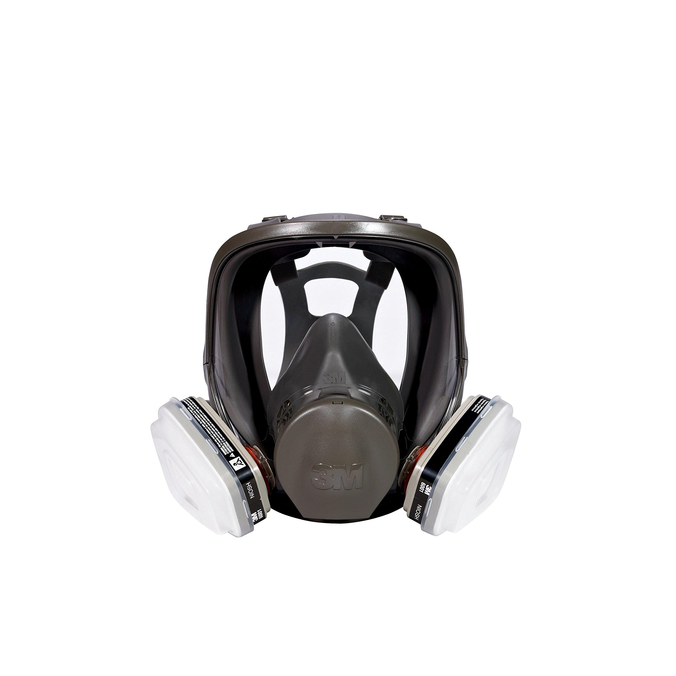 3M Full Face Paint Project Respirator, Medium