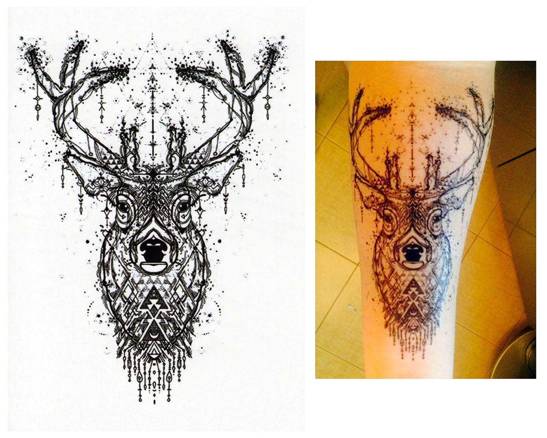 Tatuajes temporales Tempo rary Tattoo Fake Tattoo – De Ciervo ...