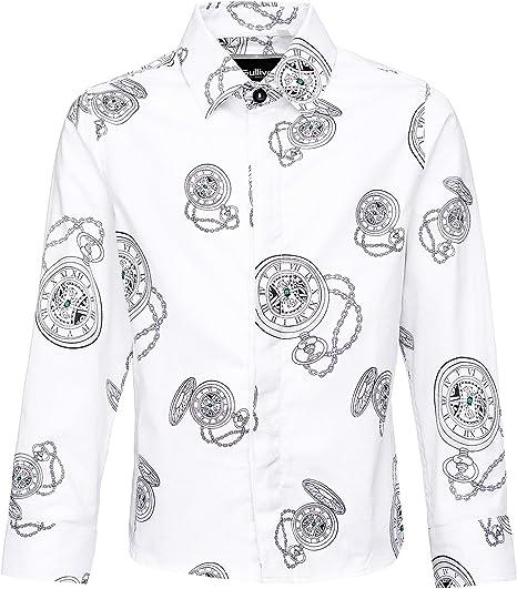GULLIVER Camisa para niños, Adolescentes, Informal, de Ocio, Color ...