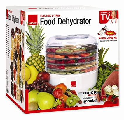 Amazon Ronco 5 Tray Electric Food Dehydrator Kitchen Dining